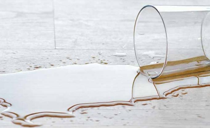 De Dureco laminaat vloer van Ter Türne is waterbestendig