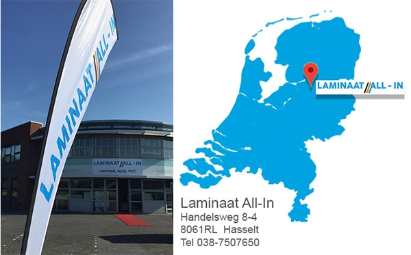 Laminaat All-In Zwolle-Hasselt