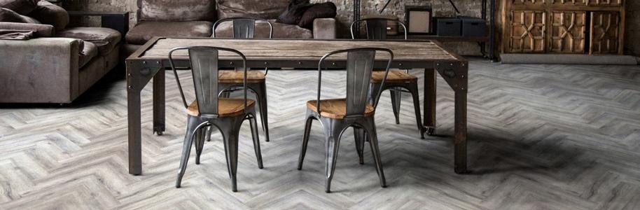 PVC vloeren visgraat