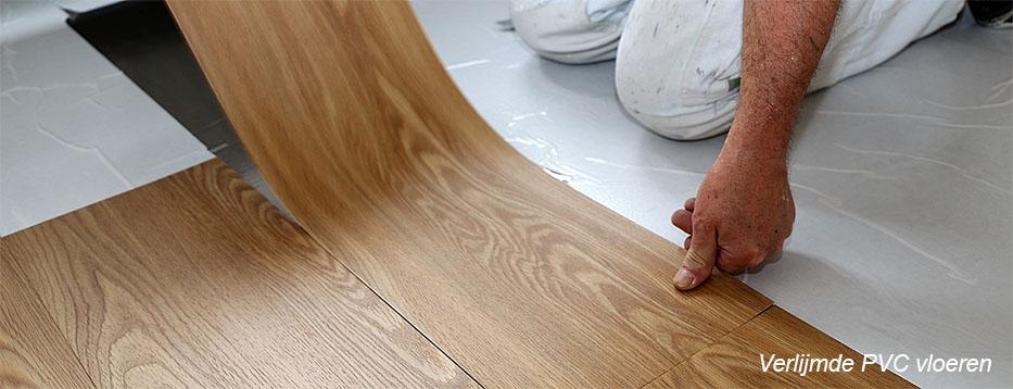 Verlijmde Plak PVC vloeren