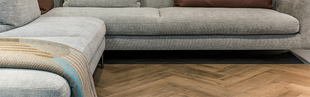 Visgraat PVC vloer Aringa van Bodiax