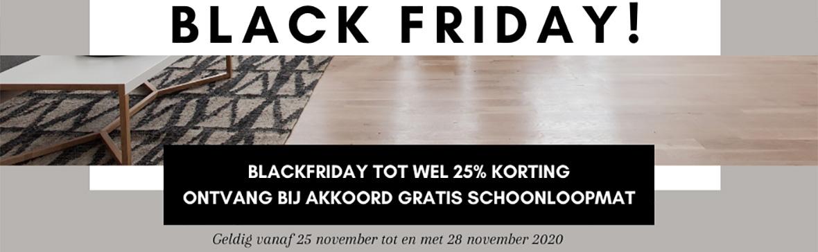 Black Friday tot wel 25% korting bij Laminaat All-In