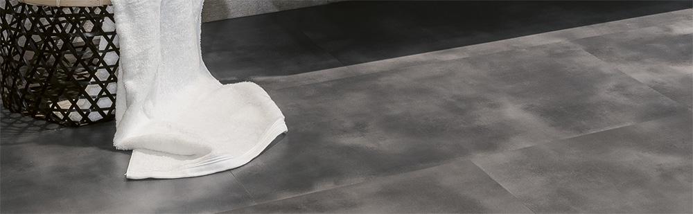 Tegel PVC vloeren van Bodiax concrete