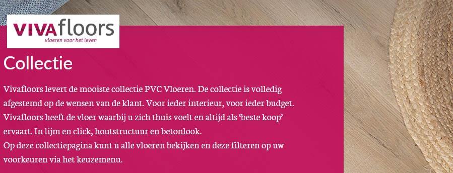 Click PVC van Vivafloors
